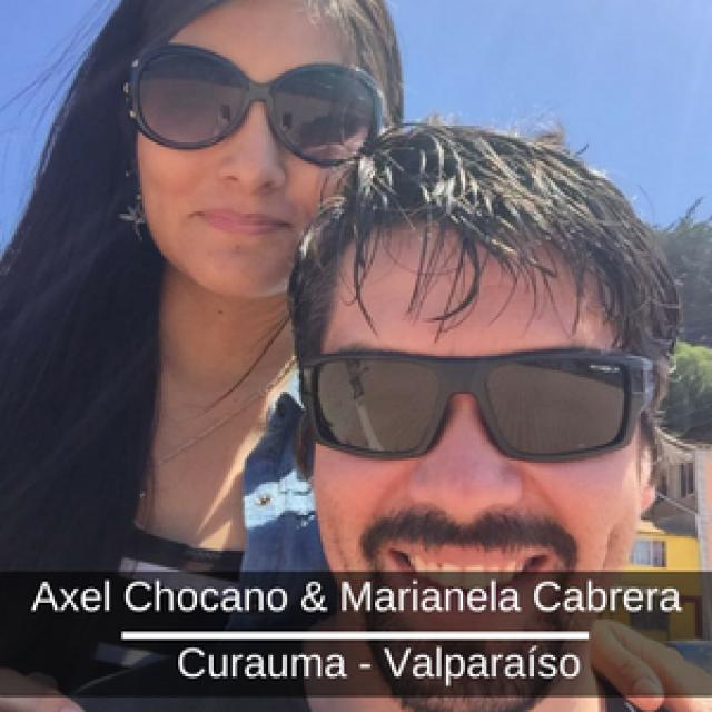 Axel Chocano &  Marianela Cabrera